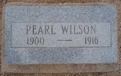 WILSON, PEARL - Cochise County, Arizona   PEARL WILSON - Arizona Gravestone Photos