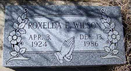 WILSON, ROXELDA E - Cochise County, Arizona | ROXELDA E WILSON - Arizona Gravestone Photos