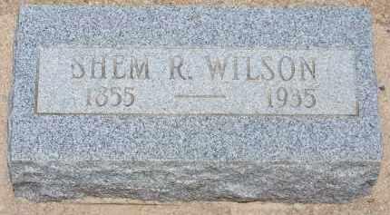 WILSON, SHEM R. - Cochise County, Arizona | SHEM R. WILSON - Arizona Gravestone Photos