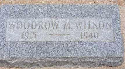 WILSON, WOODROW M. - Cochise County, Arizona   WOODROW M. WILSON - Arizona Gravestone Photos