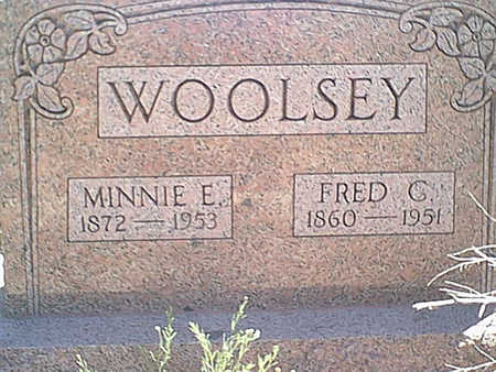 WOOLSEY, FRED C. - Cochise County, Arizona | FRED C. WOOLSEY - Arizona Gravestone Photos