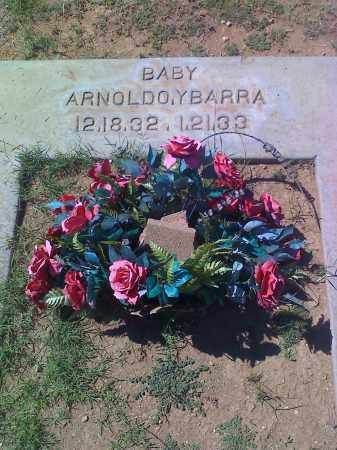 YBARRA, ARNOLDO - Cochise County, Arizona | ARNOLDO YBARRA - Arizona Gravestone Photos