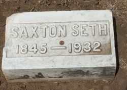 ACKER, SAXTON SETH - Coconino County, Arizona | SAXTON SETH ACKER - Arizona Gravestone Photos