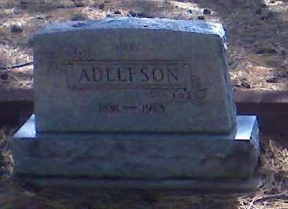 ADELFSON, HARRY - Coconino County, Arizona | HARRY ADELFSON - Arizona Gravestone Photos
