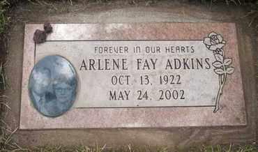 ADKINS, ARLENE FAY - Coconino County, Arizona | ARLENE FAY ADKINS - Arizona Gravestone Photos