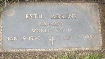ADKINS, ESTIL - Coconino County, Arizona | ESTIL ADKINS - Arizona Gravestone Photos