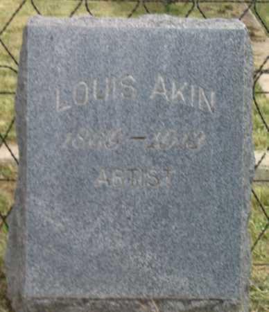 AKIN, LOUIS - Coconino County, Arizona | LOUIS AKIN - Arizona Gravestone Photos