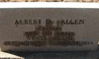 ALLEN, ALBERT A. - Coconino County, Arizona | ALBERT A. ALLEN - Arizona Gravestone Photos