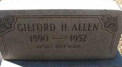 ALLEN, GILFORD H. - Coconino County, Arizona | GILFORD H. ALLEN - Arizona Gravestone Photos