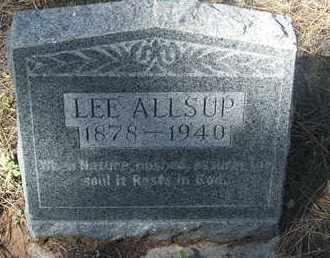 ALLSUP, LEE - Coconino County, Arizona | LEE ALLSUP - Arizona Gravestone Photos
