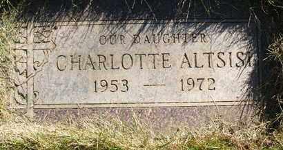 ALTSISI, CHARLOTTE - Coconino County, Arizona | CHARLOTTE ALTSISI - Arizona Gravestone Photos