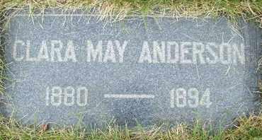 ANDERSON, CLARA MAY - Coconino County, Arizona   CLARA MAY ANDERSON - Arizona Gravestone Photos