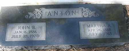 ANTON, MARTHA A - Coconino County, Arizona | MARTHA A ANTON - Arizona Gravestone Photos