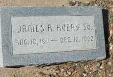 AVERY, JAMES A., SR. - Coconino County, Arizona | JAMES A., SR. AVERY - Arizona Gravestone Photos