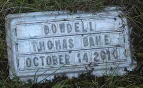 BAHE, DOWDELL THOMAS - Coconino County, Arizona   DOWDELL THOMAS BAHE - Arizona Gravestone Photos