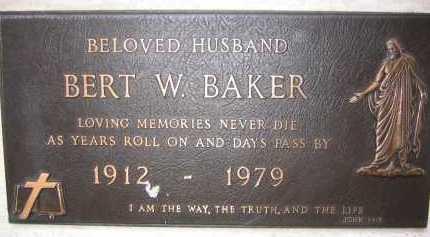 BAKER, BERT W. - Coconino County, Arizona | BERT W. BAKER - Arizona Gravestone Photos