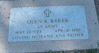 BAKER, OLEN K. - Coconino County, Arizona | OLEN K. BAKER - Arizona Gravestone Photos