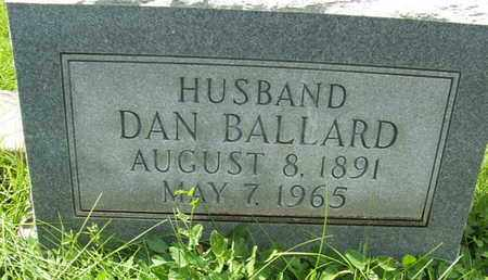 BALLARD, DAN - Coconino County, Arizona | DAN BALLARD - Arizona Gravestone Photos