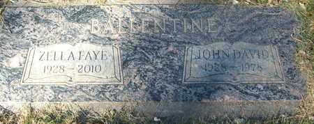 BALLENTINE, JOHN DAVID - Coconino County, Arizona | JOHN DAVID BALLENTINE - Arizona Gravestone Photos