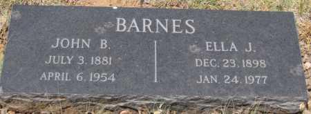 BARNES, JOHN B. - Coconino County, Arizona | JOHN B. BARNES - Arizona Gravestone Photos