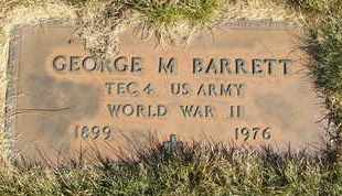 BARRETT, GEORGE M. - Coconino County, Arizona | GEORGE M. BARRETT - Arizona Gravestone Photos