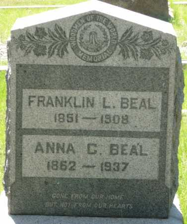 BEAL, FRANKLIN L - Coconino County, Arizona | FRANKLIN L BEAL - Arizona Gravestone Photos