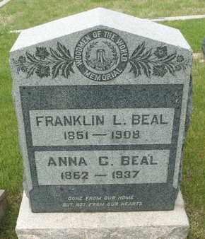 BEAL, FRANKLIN L. - Coconino County, Arizona   FRANKLIN L. BEAL - Arizona Gravestone Photos