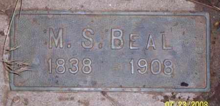 BEAL, M. S. - Coconino County, Arizona | M. S. BEAL - Arizona Gravestone Photos
