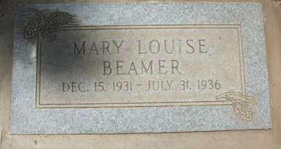 BEAMER, MARY LOUISE - Coconino County, Arizona   MARY LOUISE BEAMER - Arizona Gravestone Photos