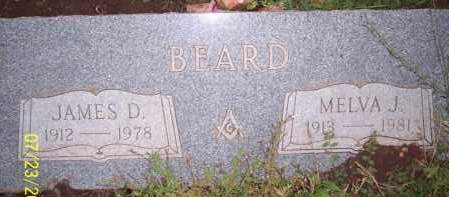 BEARD, MELVA J. - Coconino County, Arizona | MELVA J. BEARD - Arizona Gravestone Photos