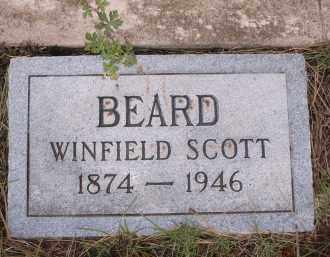 BEARD, WINFIELD SCOTT - Coconino County, Arizona   WINFIELD SCOTT BEARD - Arizona Gravestone Photos