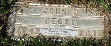 BEGAY, JOHN C. - Coconino County, Arizona | JOHN C. BEGAY - Arizona Gravestone Photos