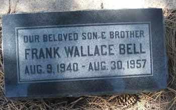 BELL, FRANK WALLACE - Coconino County, Arizona | FRANK WALLACE BELL - Arizona Gravestone Photos