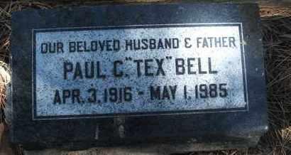 "BELL, PAUL C. ""TEX"" - Coconino County, Arizona | PAUL C. ""TEX"" BELL - Arizona Gravestone Photos"