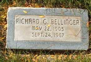 BELLINGER, RICHARD G. - Coconino County, Arizona | RICHARD G. BELLINGER - Arizona Gravestone Photos