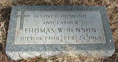 BENSON, THOMAS W. - Coconino County, Arizona   THOMAS W. BENSON - Arizona Gravestone Photos