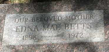 BETTS, EDNA MAE - Coconino County, Arizona | EDNA MAE BETTS - Arizona Gravestone Photos