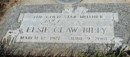 BILLY, ELSIE - Coconino County, Arizona | ELSIE BILLY - Arizona Gravestone Photos