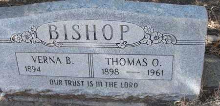 BISHOP, THOMAS O. - Coconino County, Arizona | THOMAS O. BISHOP - Arizona Gravestone Photos