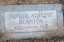 BLANTON, DOSHIE ADELINE - Coconino County, Arizona | DOSHIE ADELINE BLANTON - Arizona Gravestone Photos