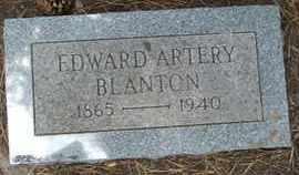 BLANTON, EDWARD ARTERY - Coconino County, Arizona | EDWARD ARTERY BLANTON - Arizona Gravestone Photos