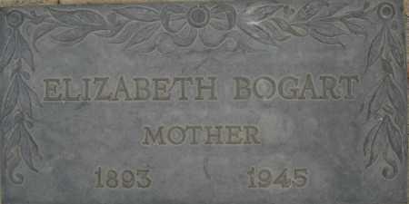 BOGART, ELIZABETH - Coconino County, Arizona | ELIZABETH BOGART - Arizona Gravestone Photos