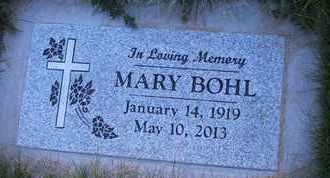 BOHL, MARY - Coconino County, Arizona | MARY BOHL - Arizona Gravestone Photos