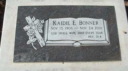 BONNER, KAIDIE E. - Coconino County, Arizona   KAIDIE E. BONNER - Arizona Gravestone Photos