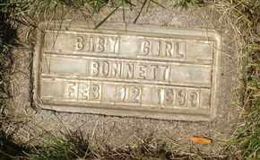 BONNETT, BABY GIRL - Coconino County, Arizona   BABY GIRL BONNETT - Arizona Gravestone Photos