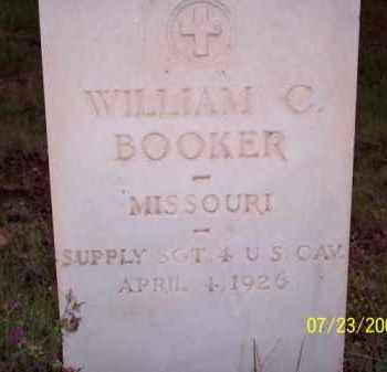 BOOKER, WILLIAM C. - Coconino County, Arizona | WILLIAM C. BOOKER - Arizona Gravestone Photos