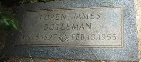 BOTLEMAN, LOREN JAMES - Coconino County, Arizona | LOREN JAMES BOTLEMAN - Arizona Gravestone Photos