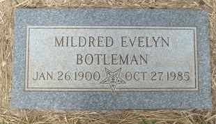 BOTLEMAN, MILDRED EVELYN - Coconino County, Arizona | MILDRED EVELYN BOTLEMAN - Arizona Gravestone Photos