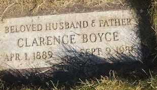 BOYCE, CLARENCE - Coconino County, Arizona   CLARENCE BOYCE - Arizona Gravestone Photos