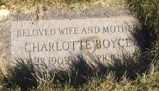 BOYCE, CHARLOTTE - Coconino County, Arizona | CHARLOTTE BOYCE - Arizona Gravestone Photos